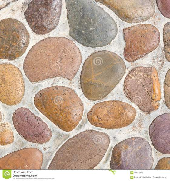 Pebble Stone Floor Tile Texture Stock Photo   Image of rock  circle     Pebble stone floor tile texture