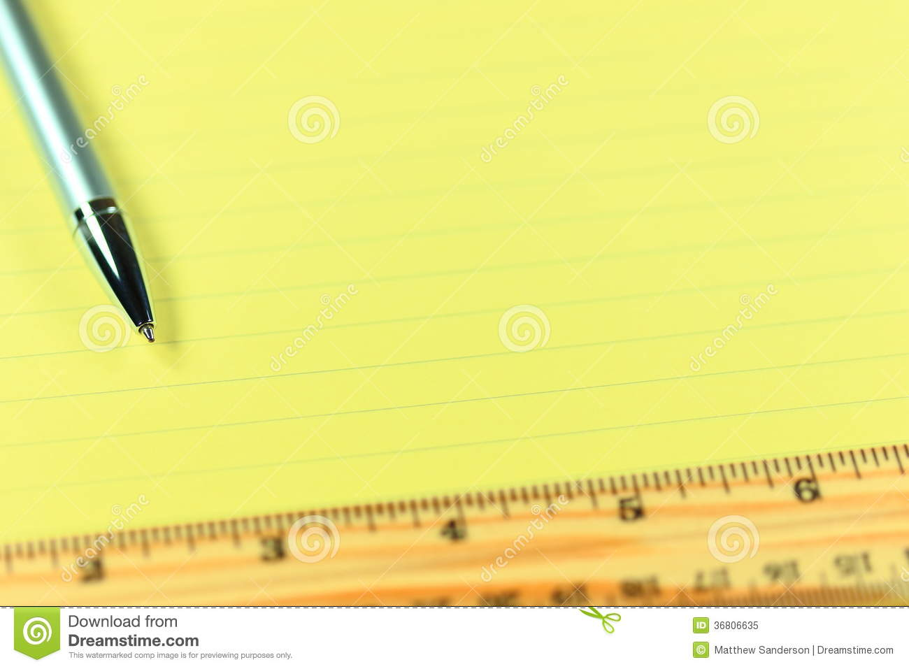 Lined Paper Background Powerpoint
