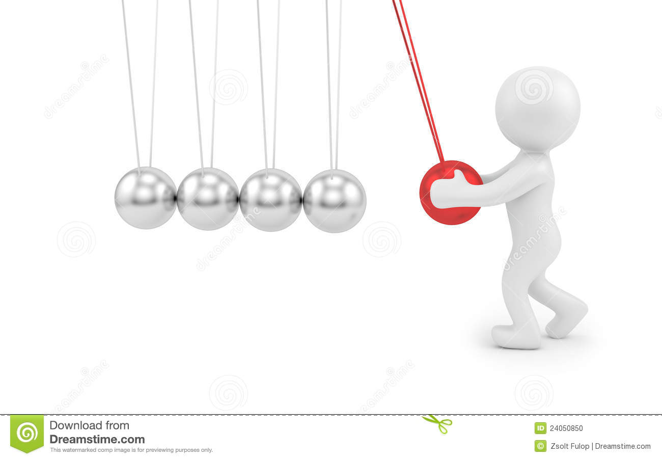 Pendulum Stock Illustration Image Of Impulse Shape