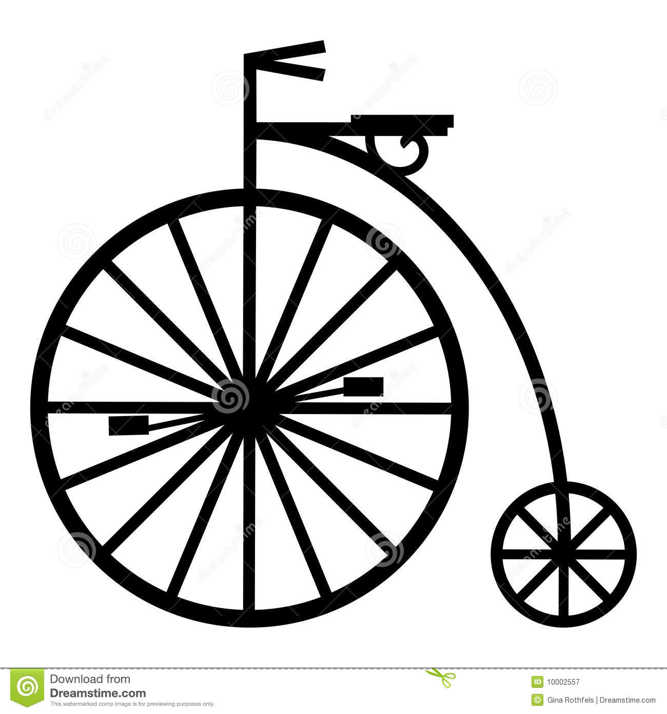Pennyfarthing Royalty Free Stock Photography