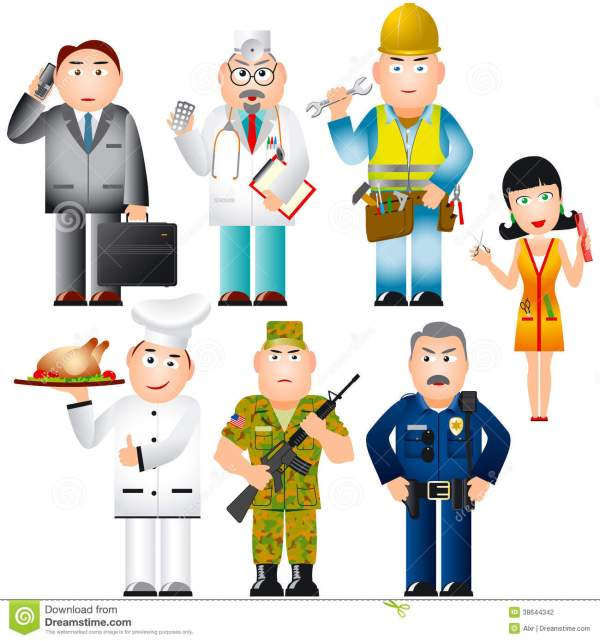 Occupations; Professions; Vocations
