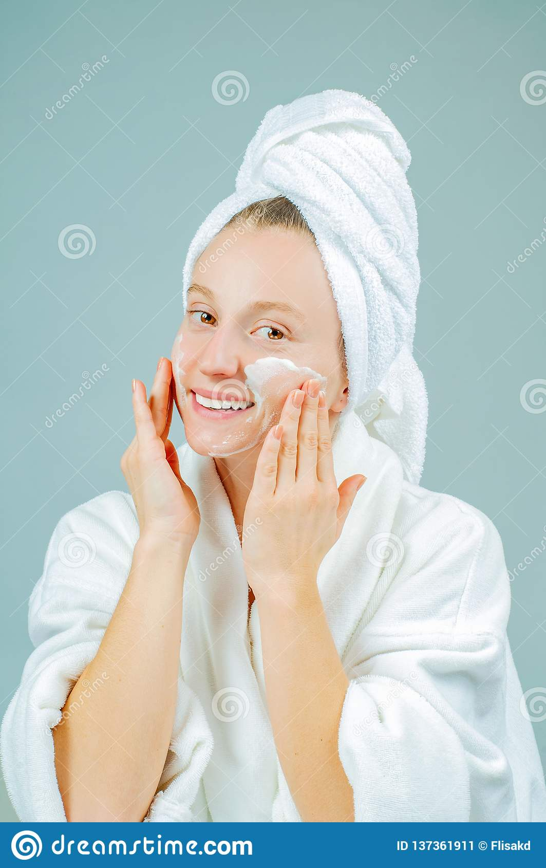 Freshly Moist Youthful Skin