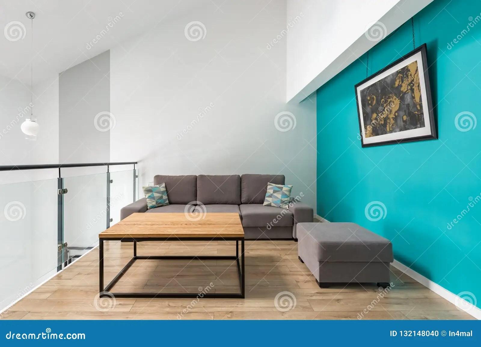 https fr dreamstime com petit salon mur turquoise image132148040