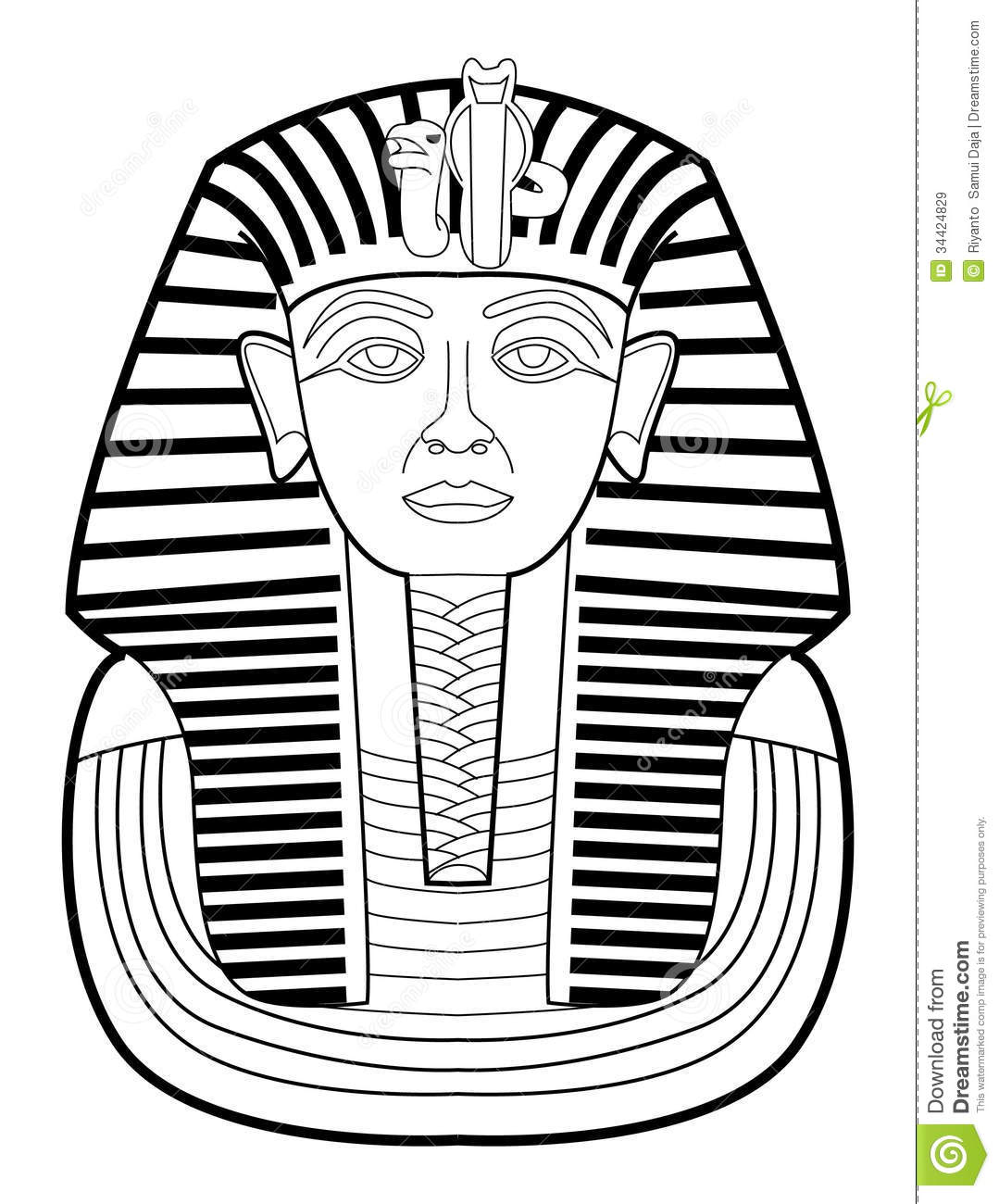 Pharaoh Royalty Free Stock Images