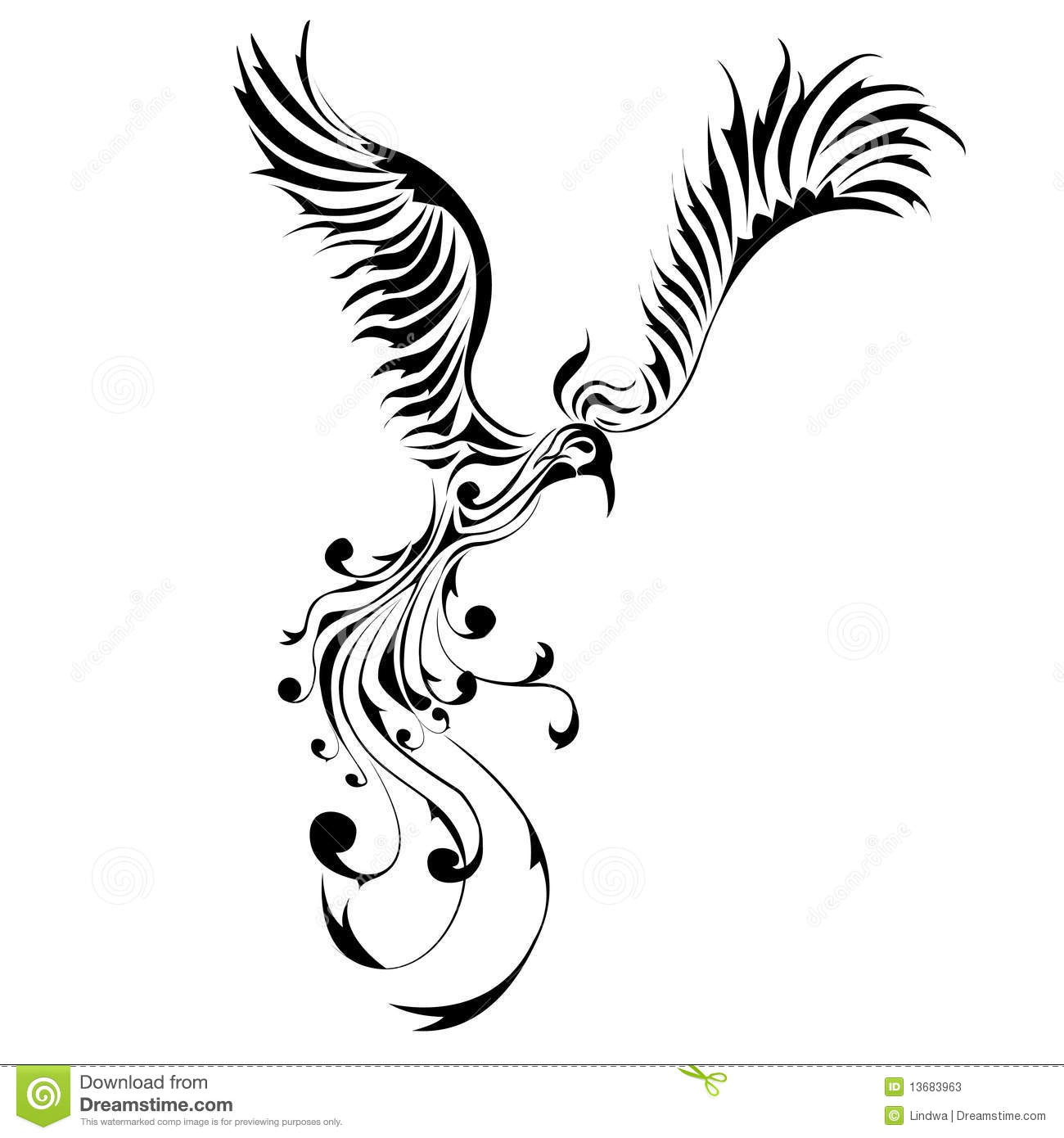 Phoenix Stock Illustration Illustration Of Japan Ancient