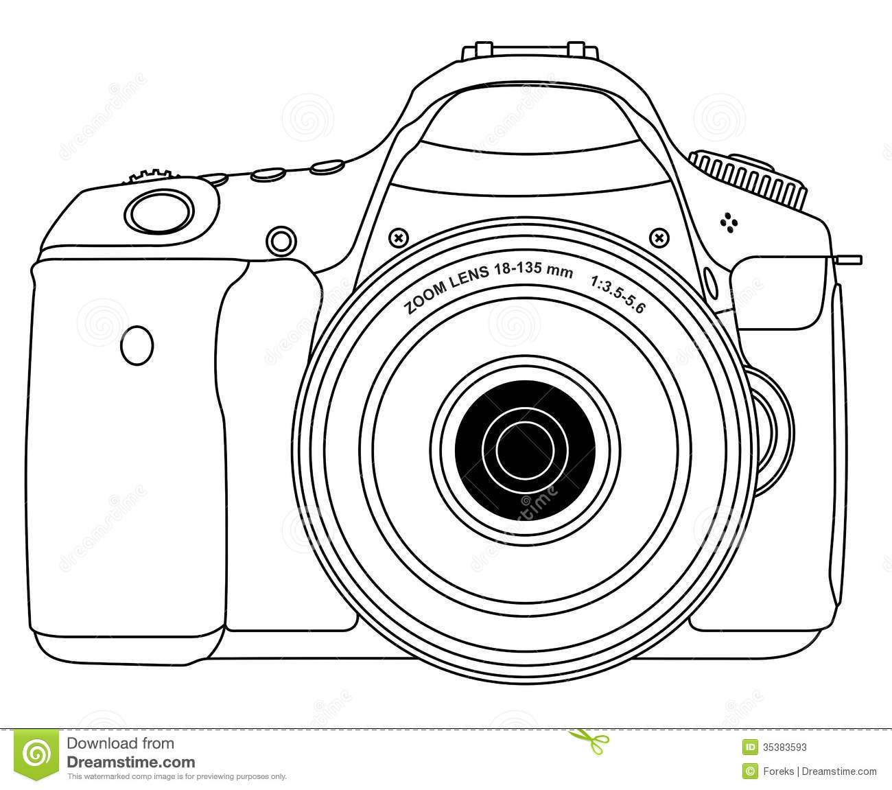 Photo Camera Stock Vector Illustration Of Snap Glass