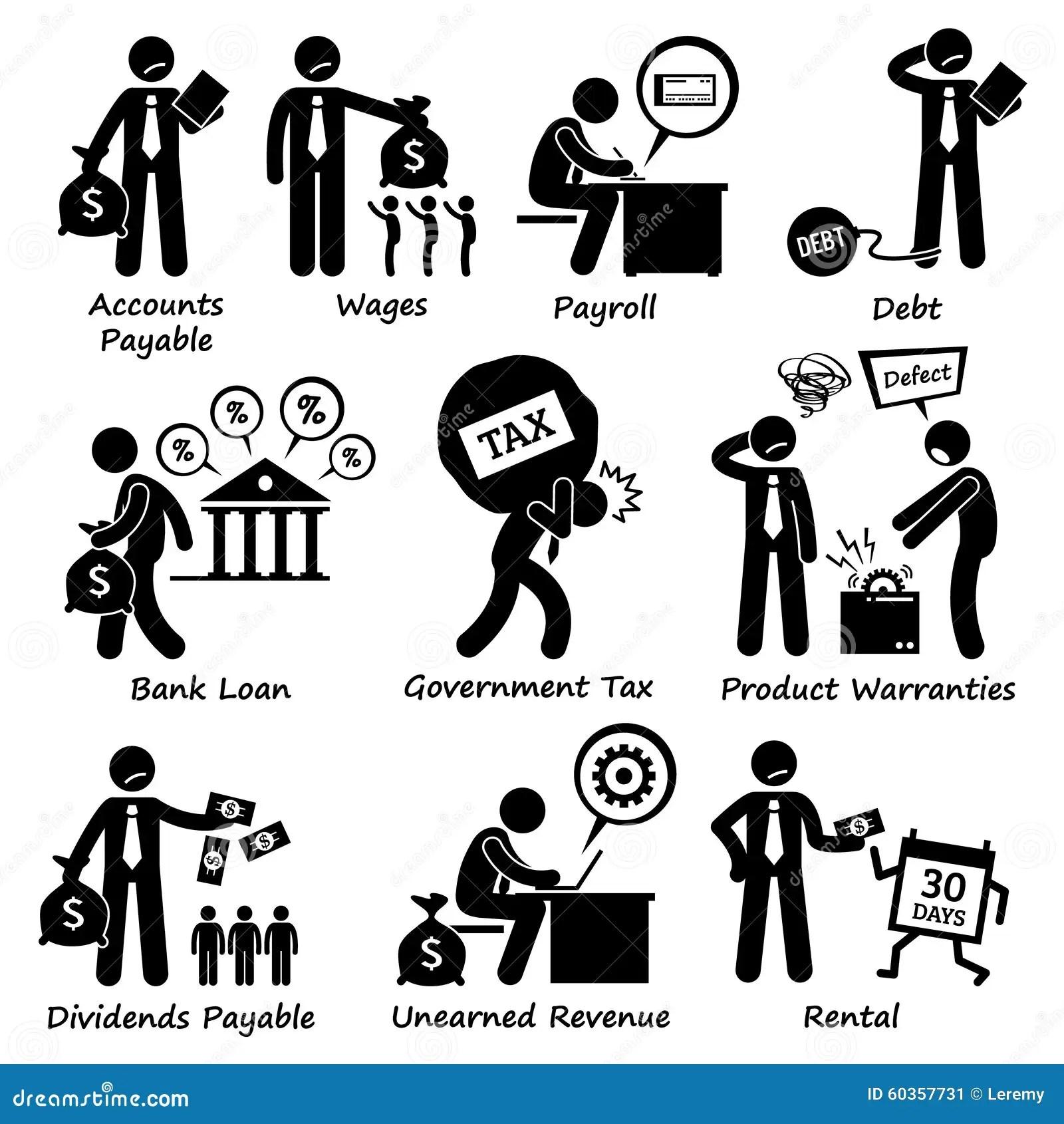 Pictogramme Clipart De Responsabilite Commerciale De