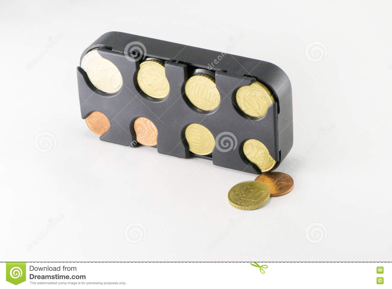 Piggy Bank With Coins Stock Image Image Of Male Small