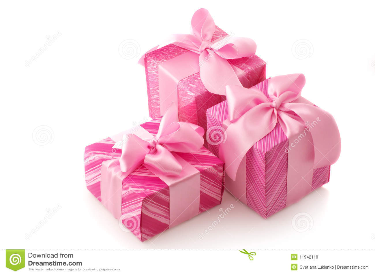 Pink Gifts Royalty Free Stock Photos Image 11942118