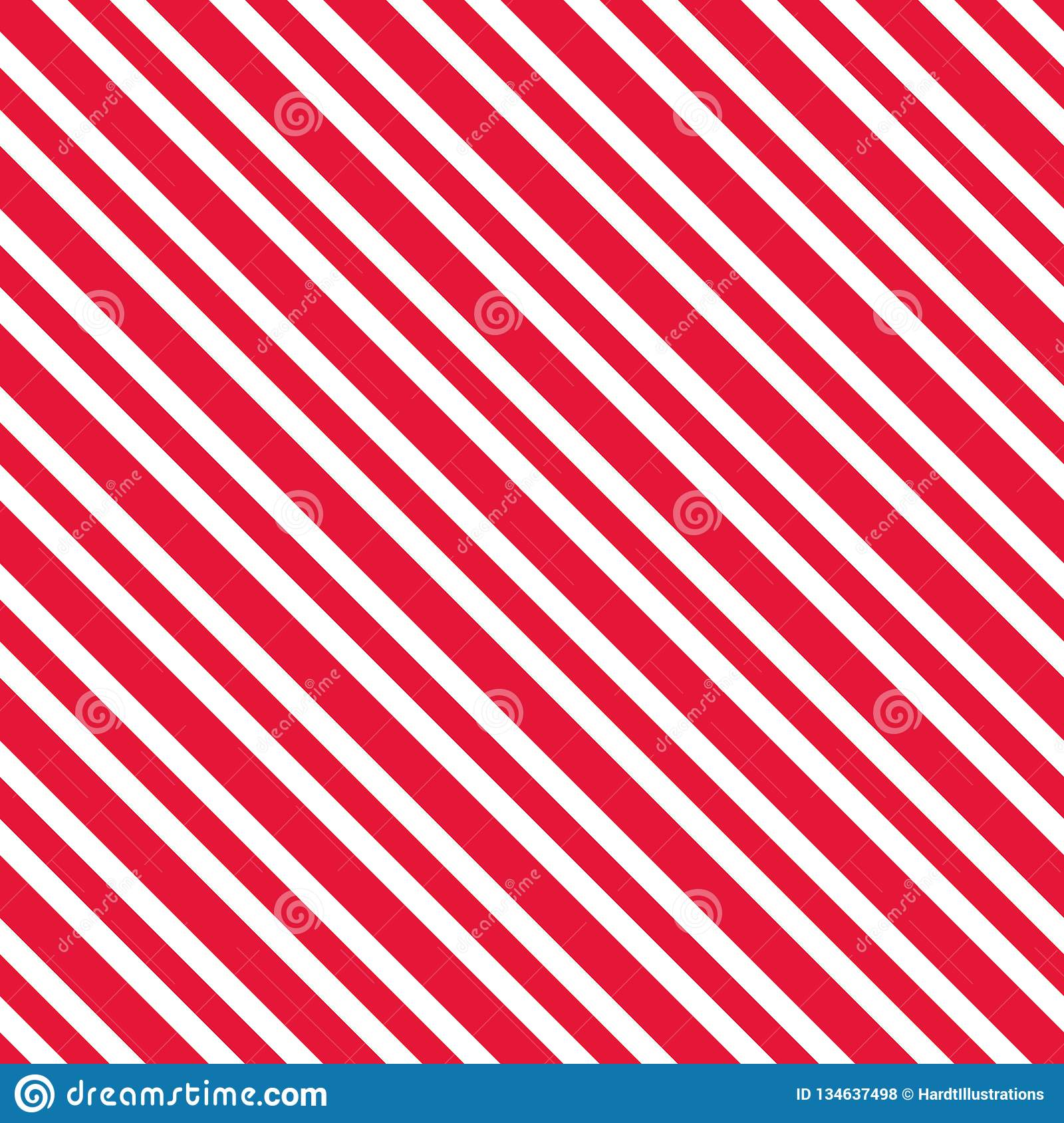 Candy Cane Stripes Seamless Pattern Stock Vector