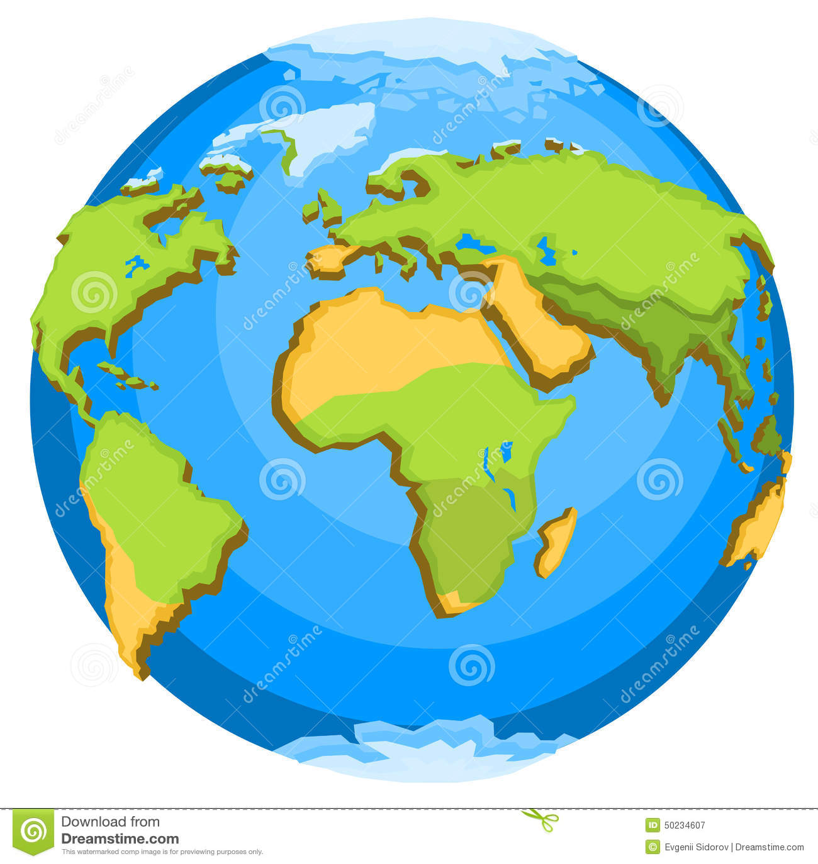 Planet Earth Stock Vector
