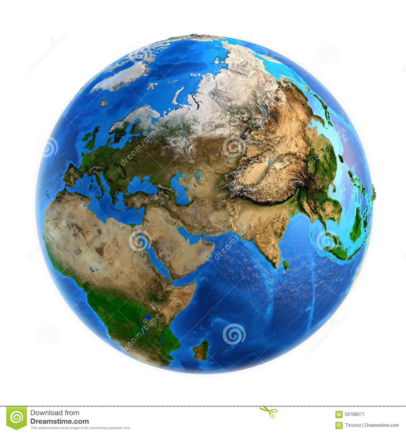 Planet Earth Landforms Stock Image Image Of Asian