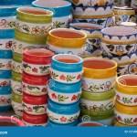 Plant Pot Colorful Ceramic Plant Pots For Sale Stock Image Image Of Decoration Background 127496139