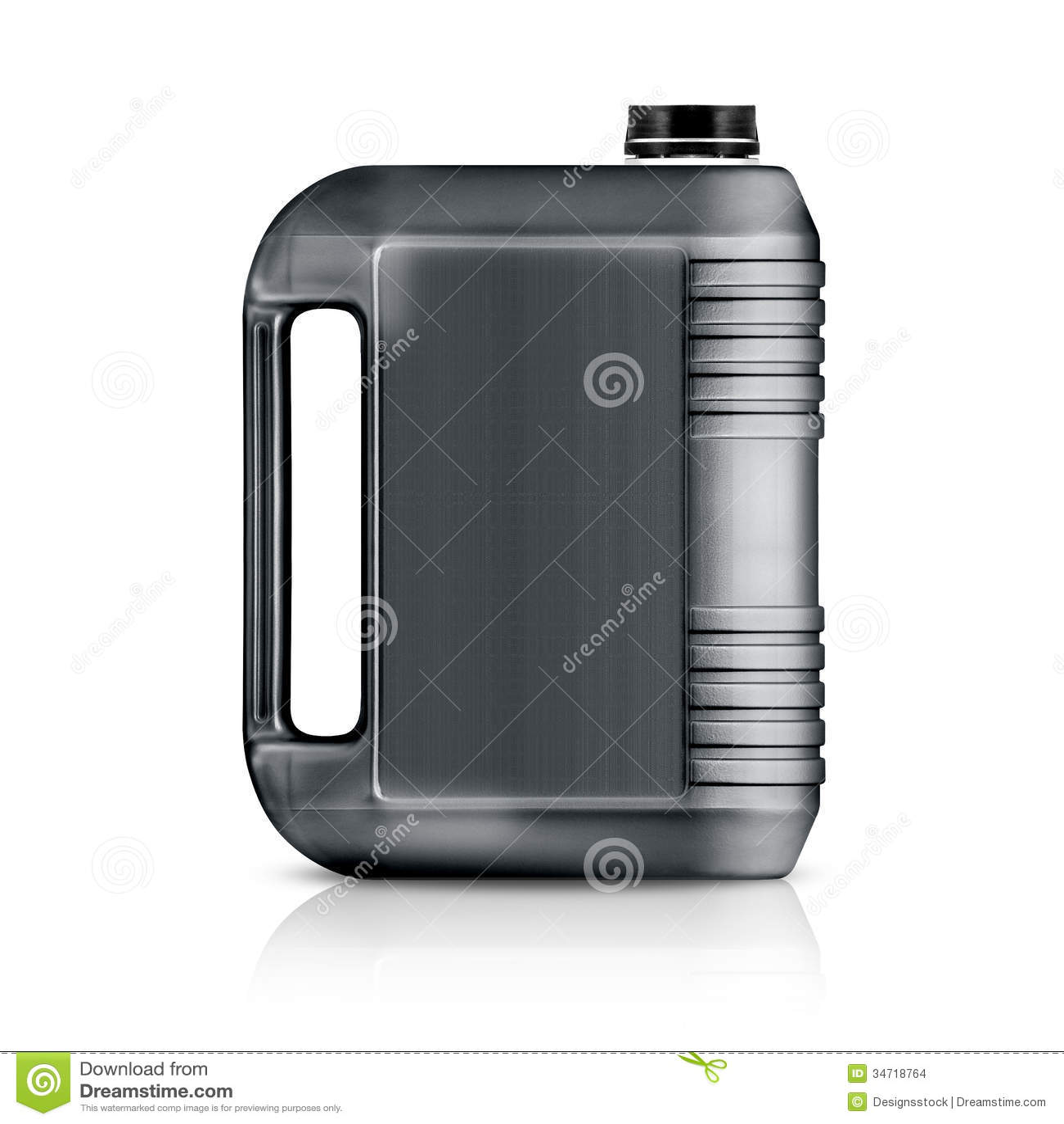 Plastic Gallon Stock Photo Image Of Liter Handle