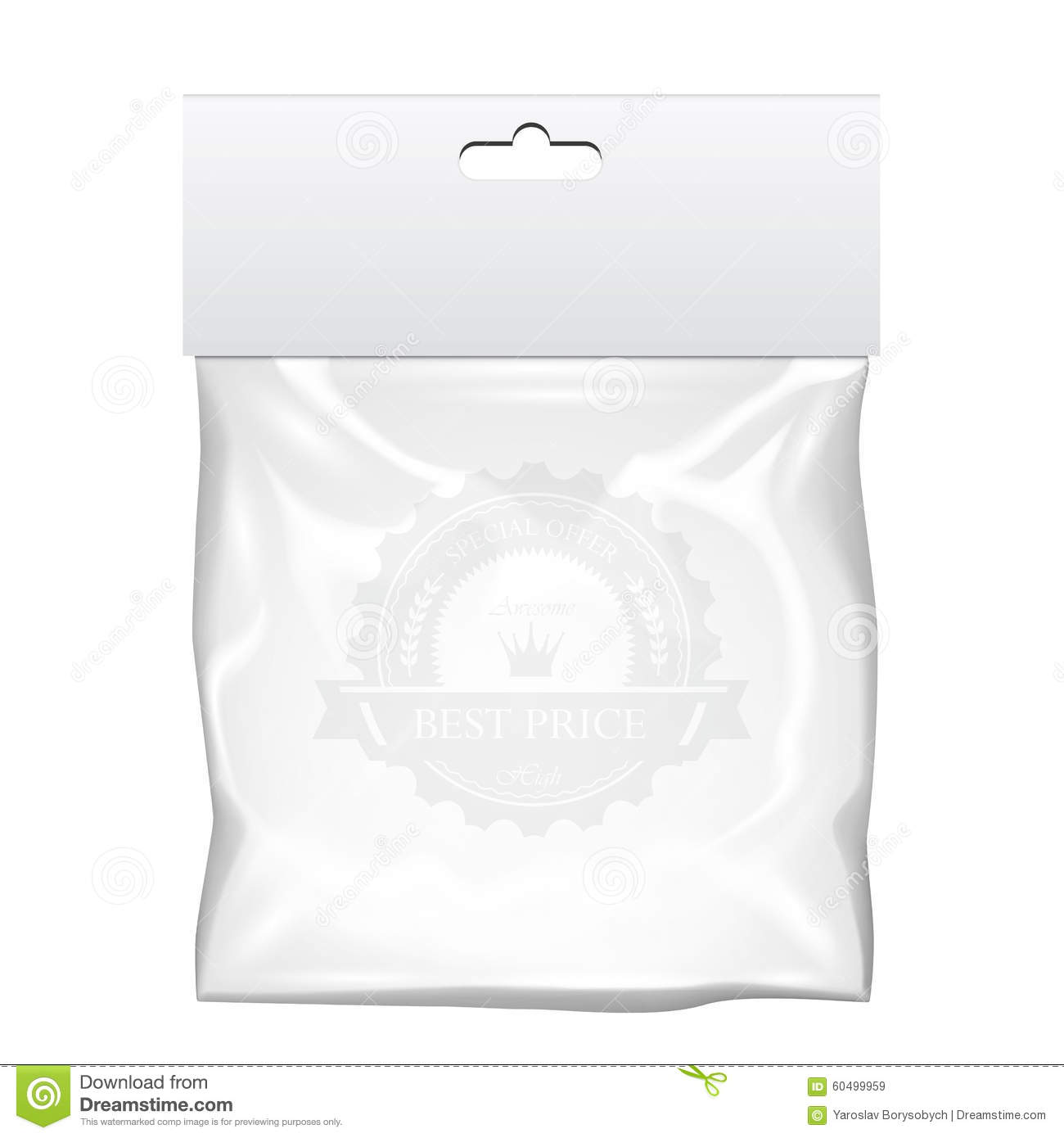Download vector images of zipper bag mockup on depositphotos ✓ vector stock. Plastic Pocket Bag Mock Up Transparent Template Stock Vector Illustration Of Container Clear 60499959
