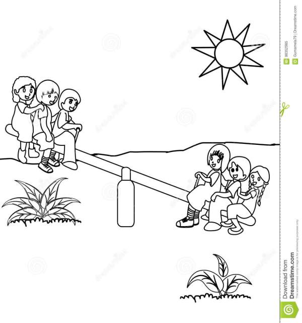 playground coloring pages # 41