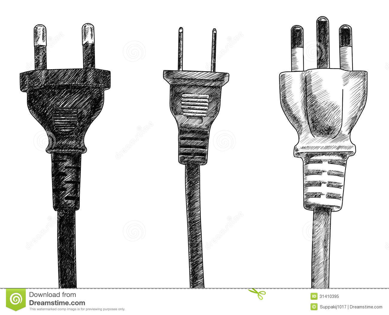 Plugs Stock Illustration Illustration Of Object