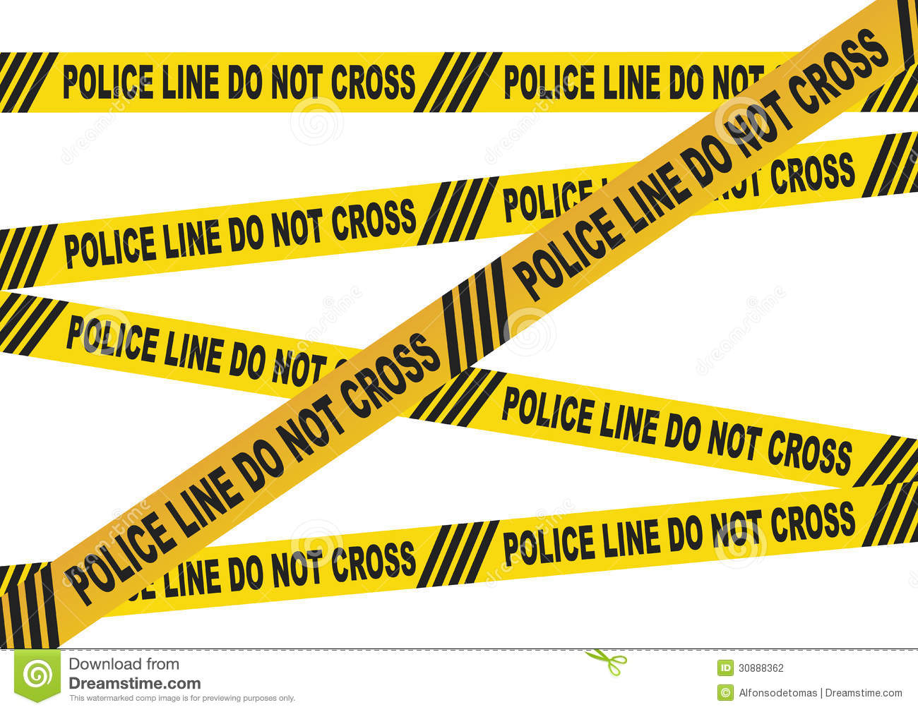Caution Tape Police