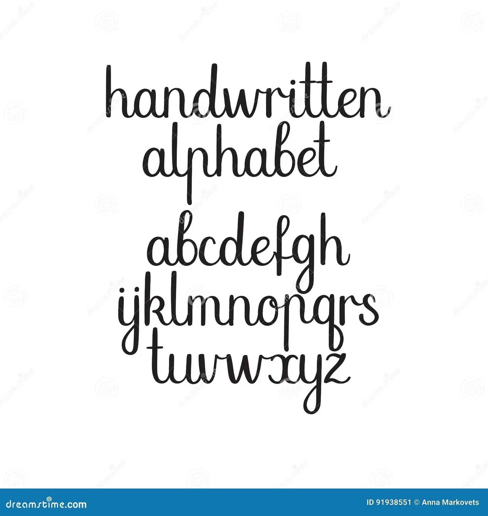 Police M Crite Vecteur Abc Alphabet Moderne De