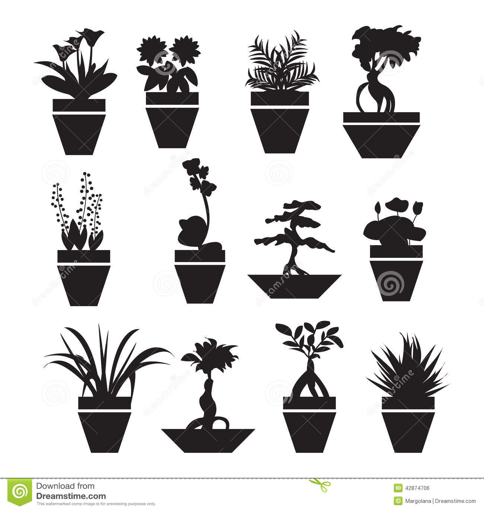 Pot Plants Garden Flowers And Herbs