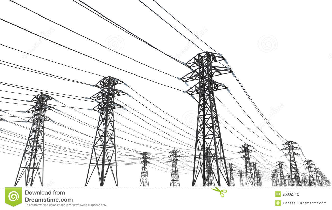 Power Line Stock Photography