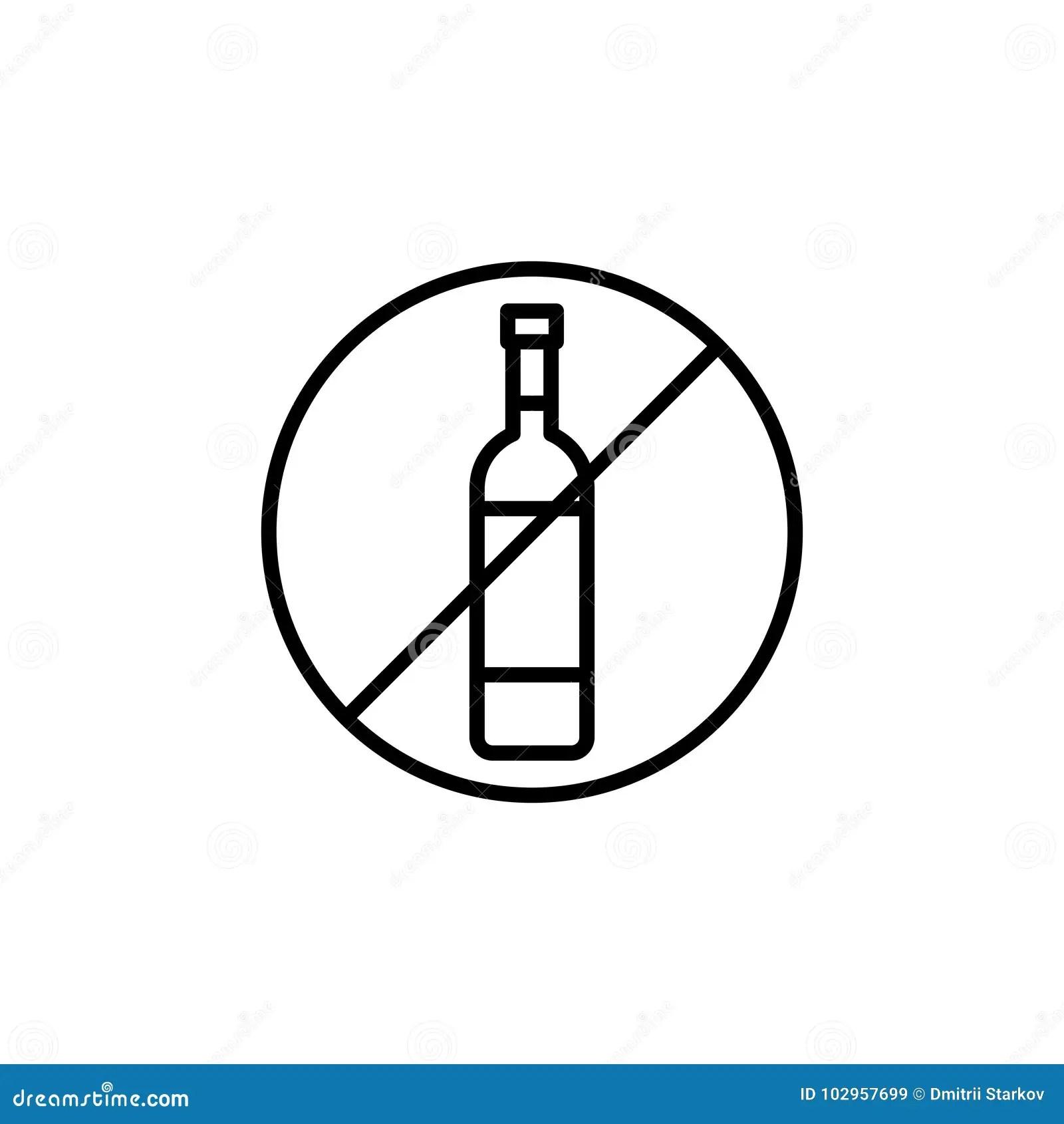 Alcoholism Infographic Vector Illustration