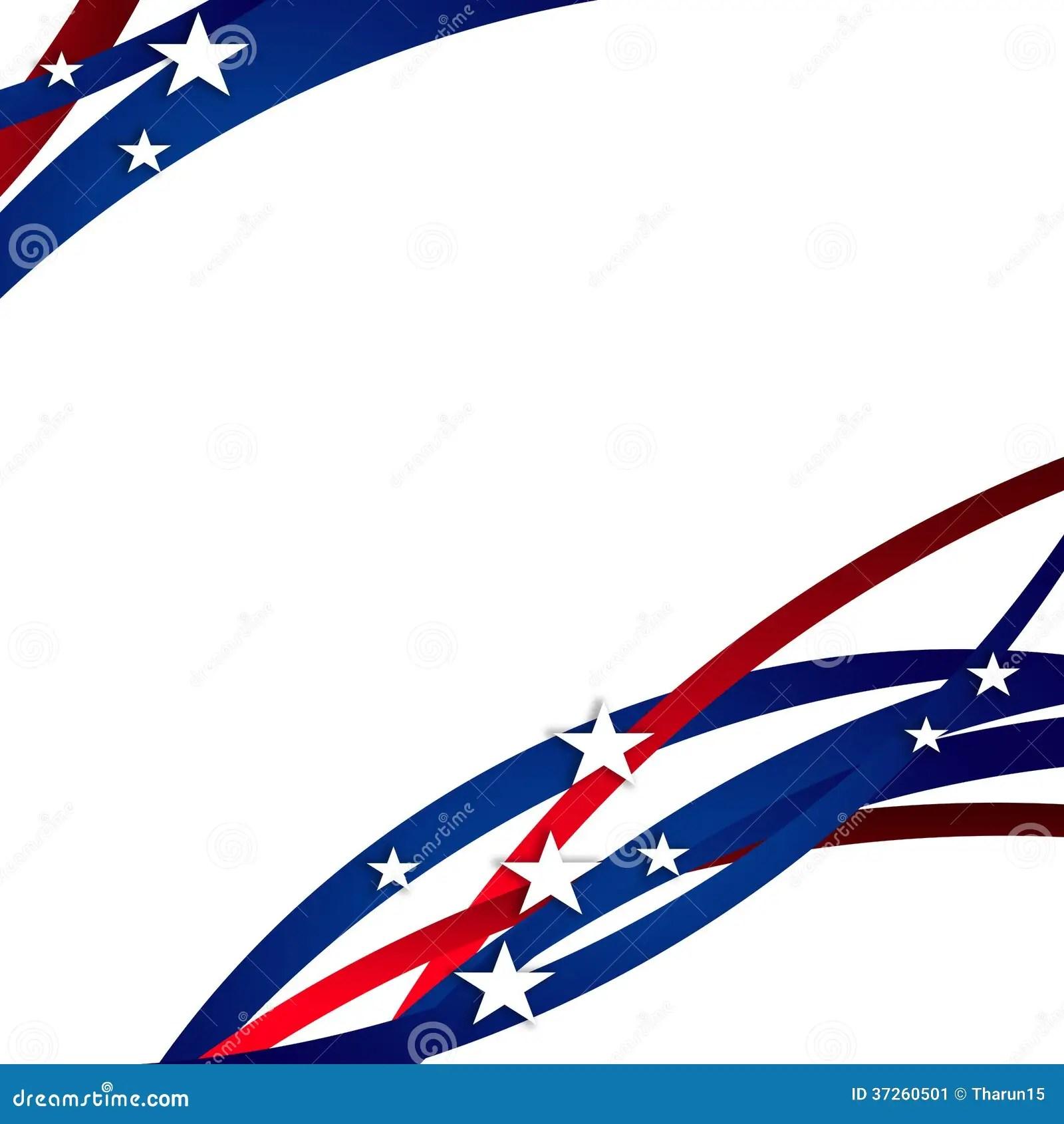 President Day Background Stock Image