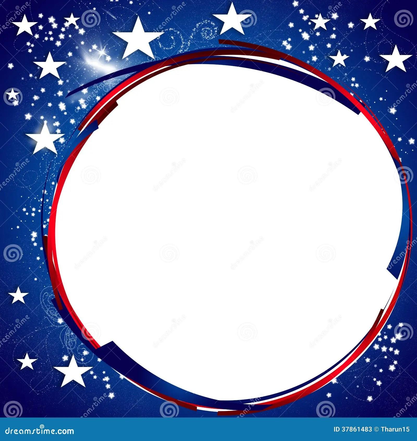 President Day Patriotic Background Stock Photos