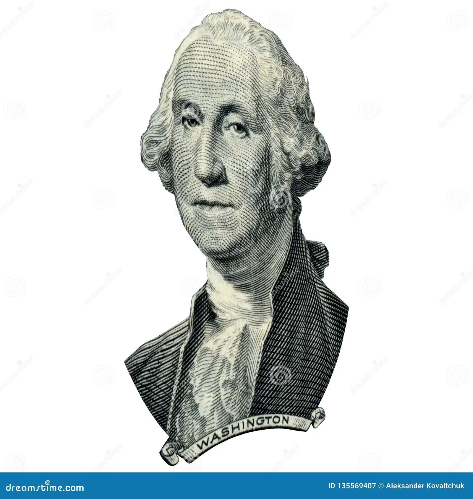 President Washington George Portrait Stock Image