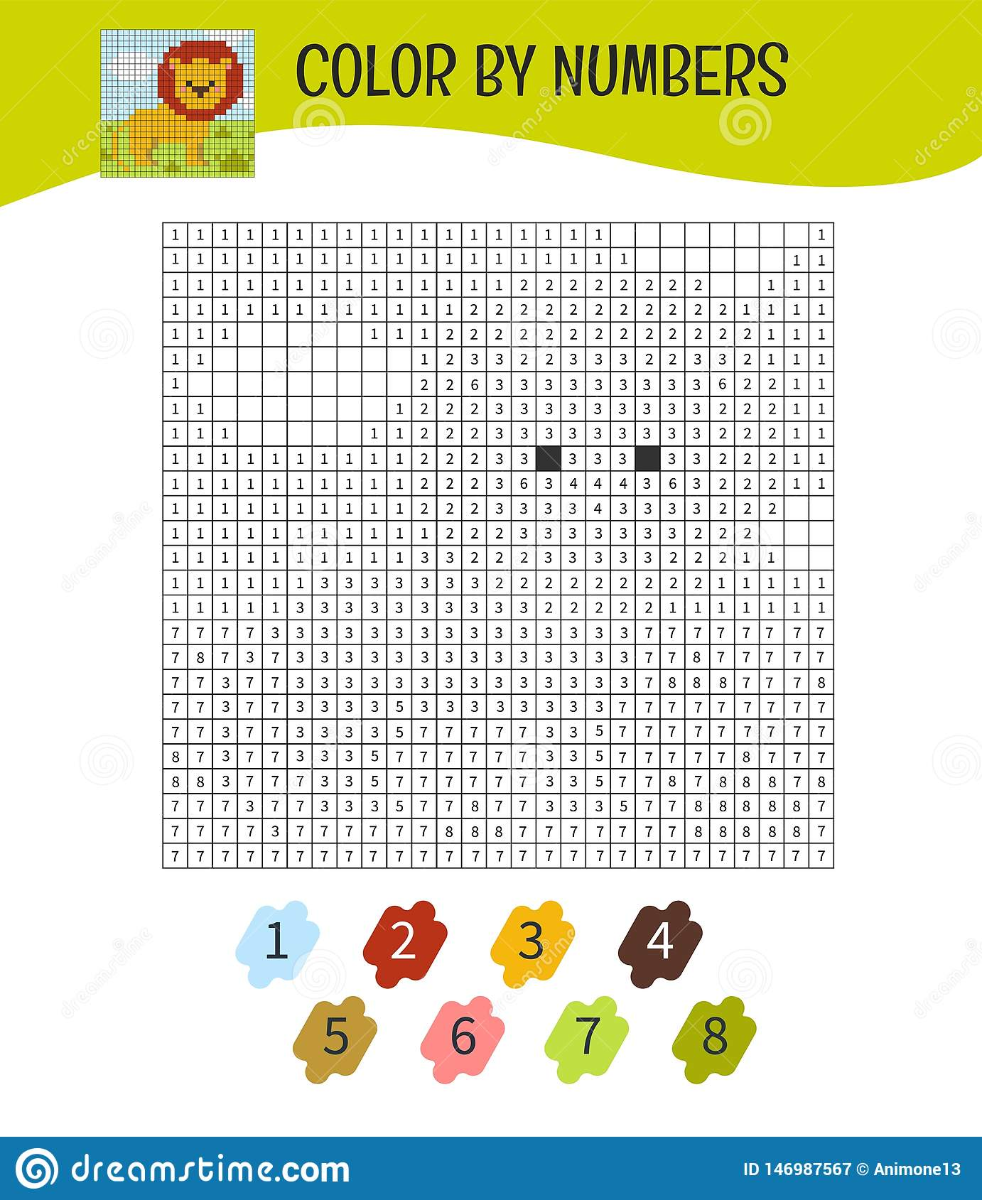 Kids Educational Game Stock Vector Illustration Of Baby