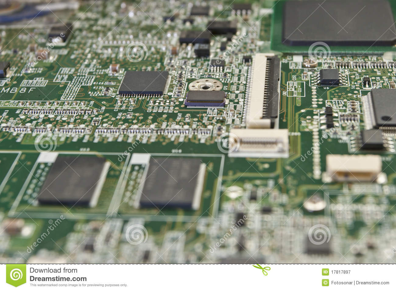 Printed Circuit Board For Electronic Components Stock