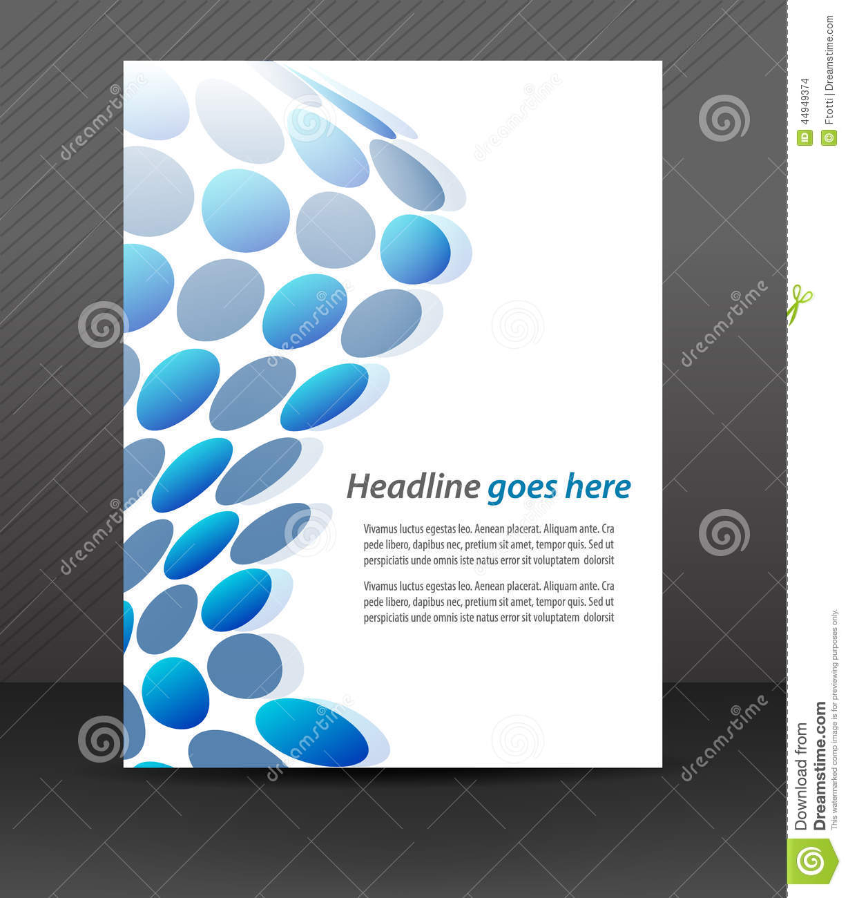 Free binder cover templates business accmission Images