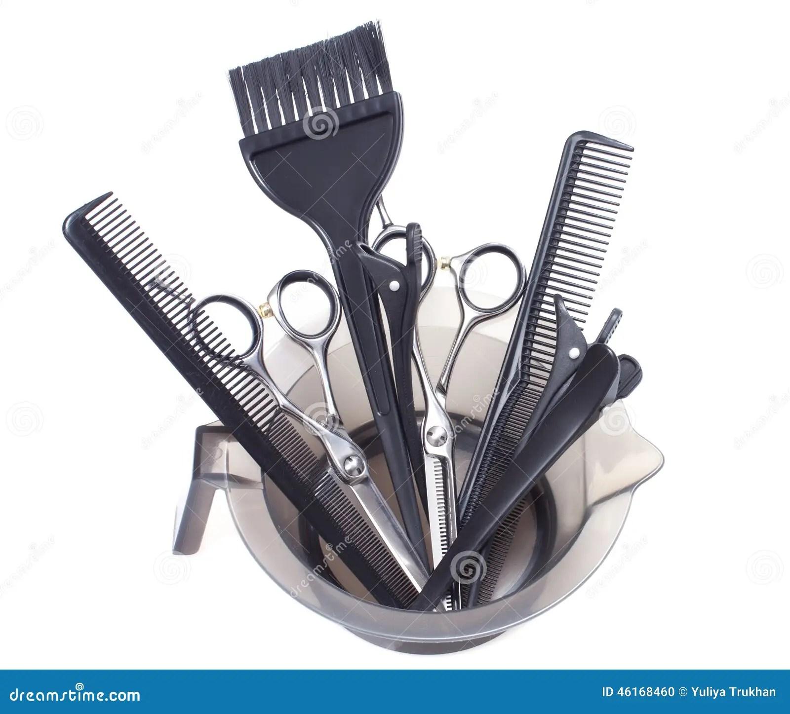 Professional Hair Coloring Tools