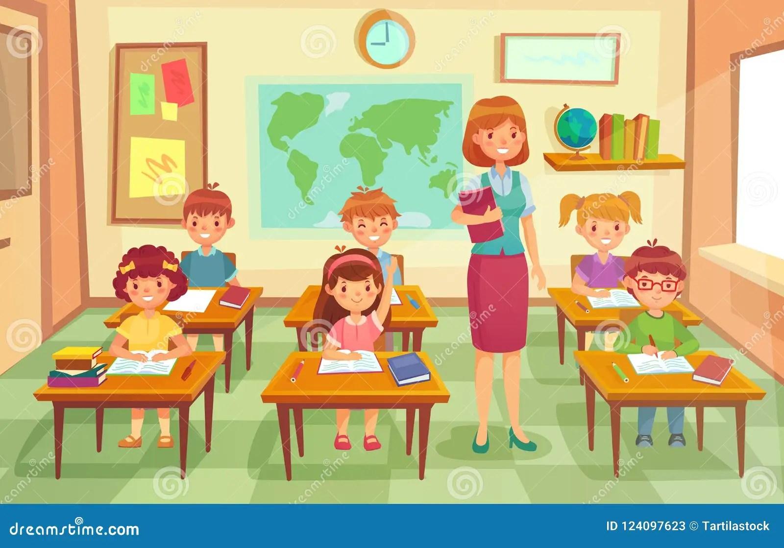 Classroom Cartoon Stock Illustrations 19 618 Classroom