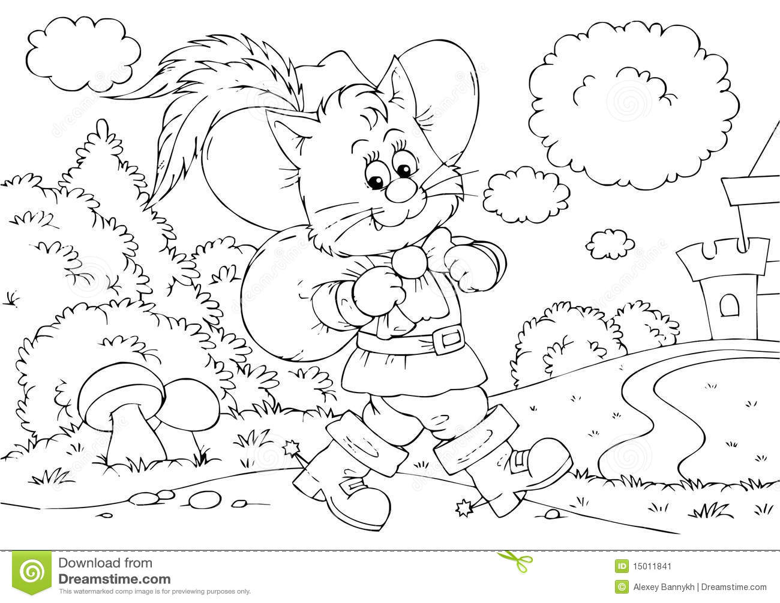 Puss In Boots Stock Illustration Illustration Of
