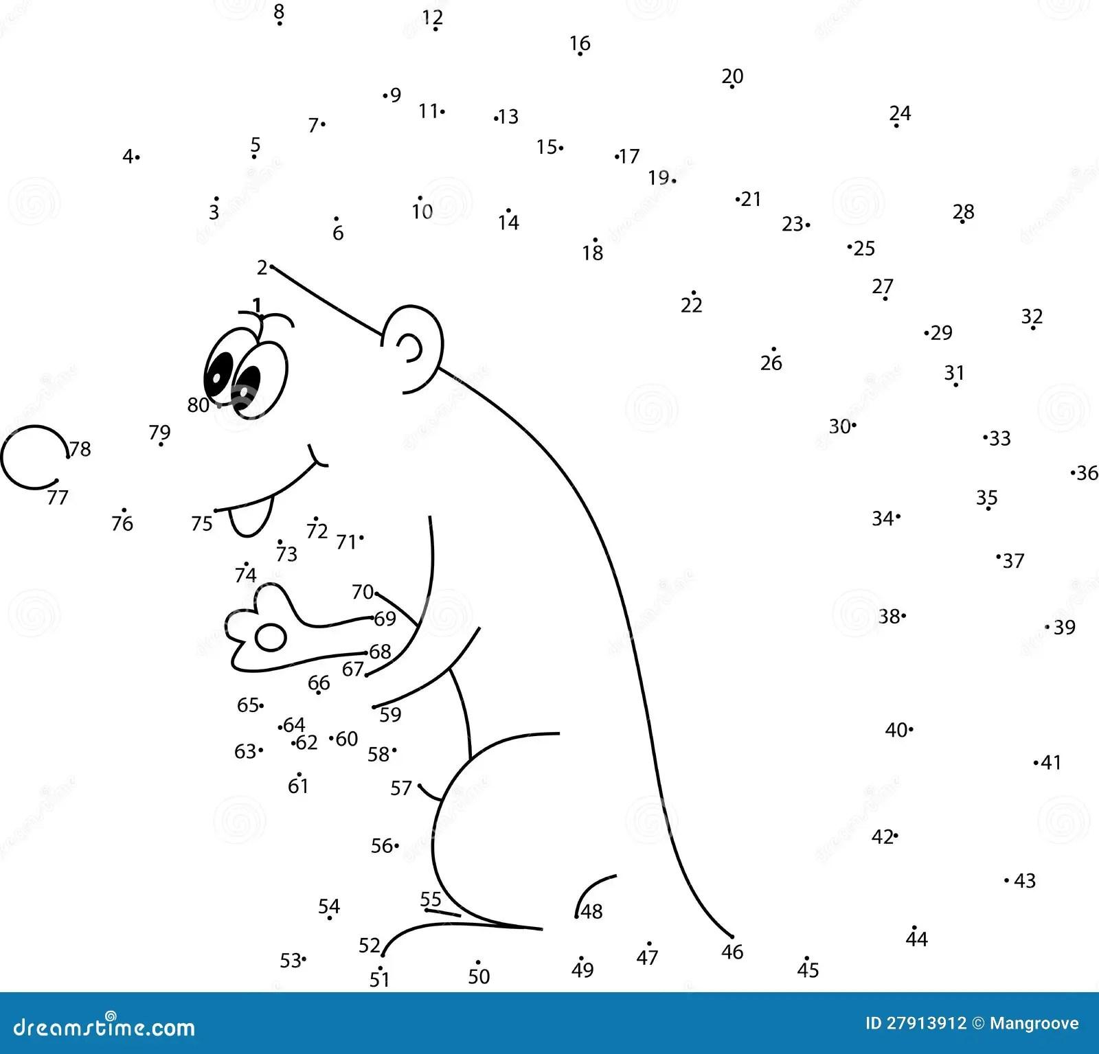 Puzzle Game For Kids Hedgehog Stock Illustration