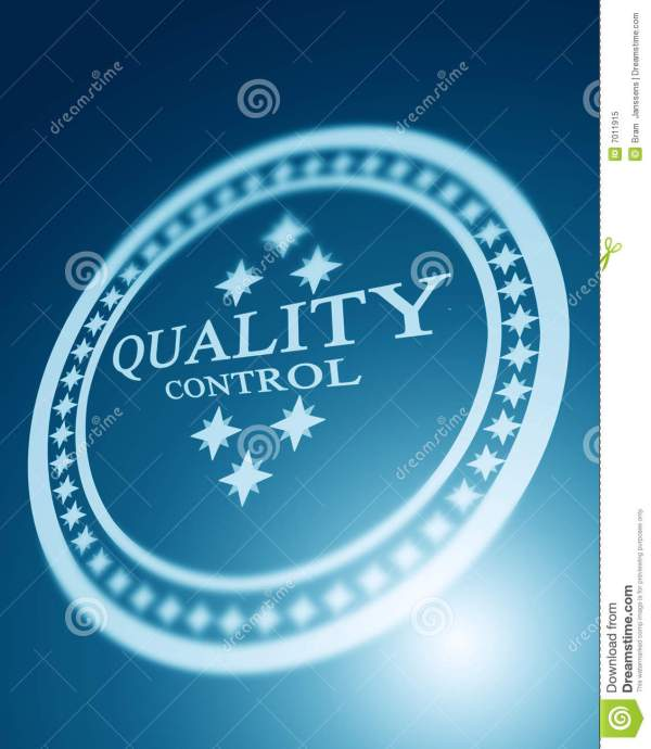Quality Control Royalty Free Stock Photo - Image: 7011915