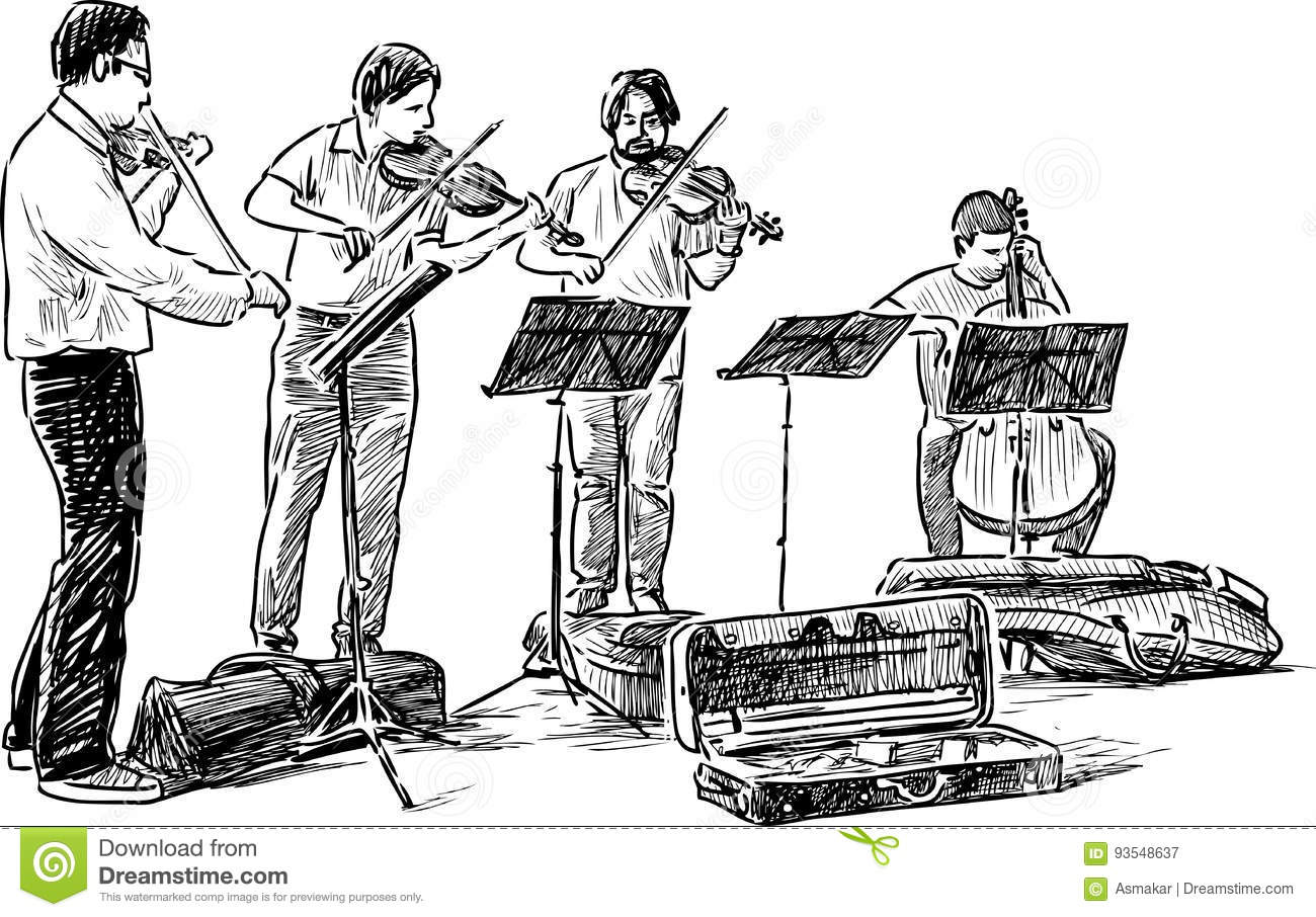 Buskers Cartoons Illustrations Amp Vector Stock Images