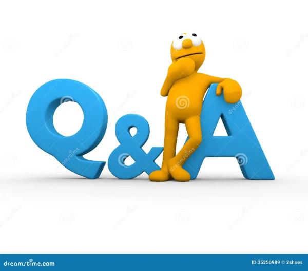 Question Answer stock illustration Illustration of