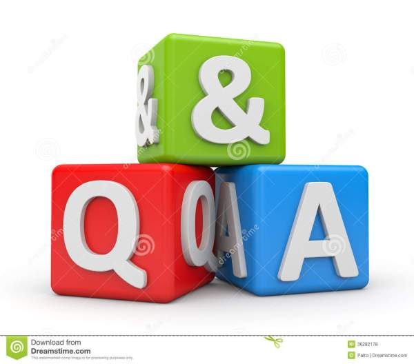 Question and Answers stock illustration Illustration of