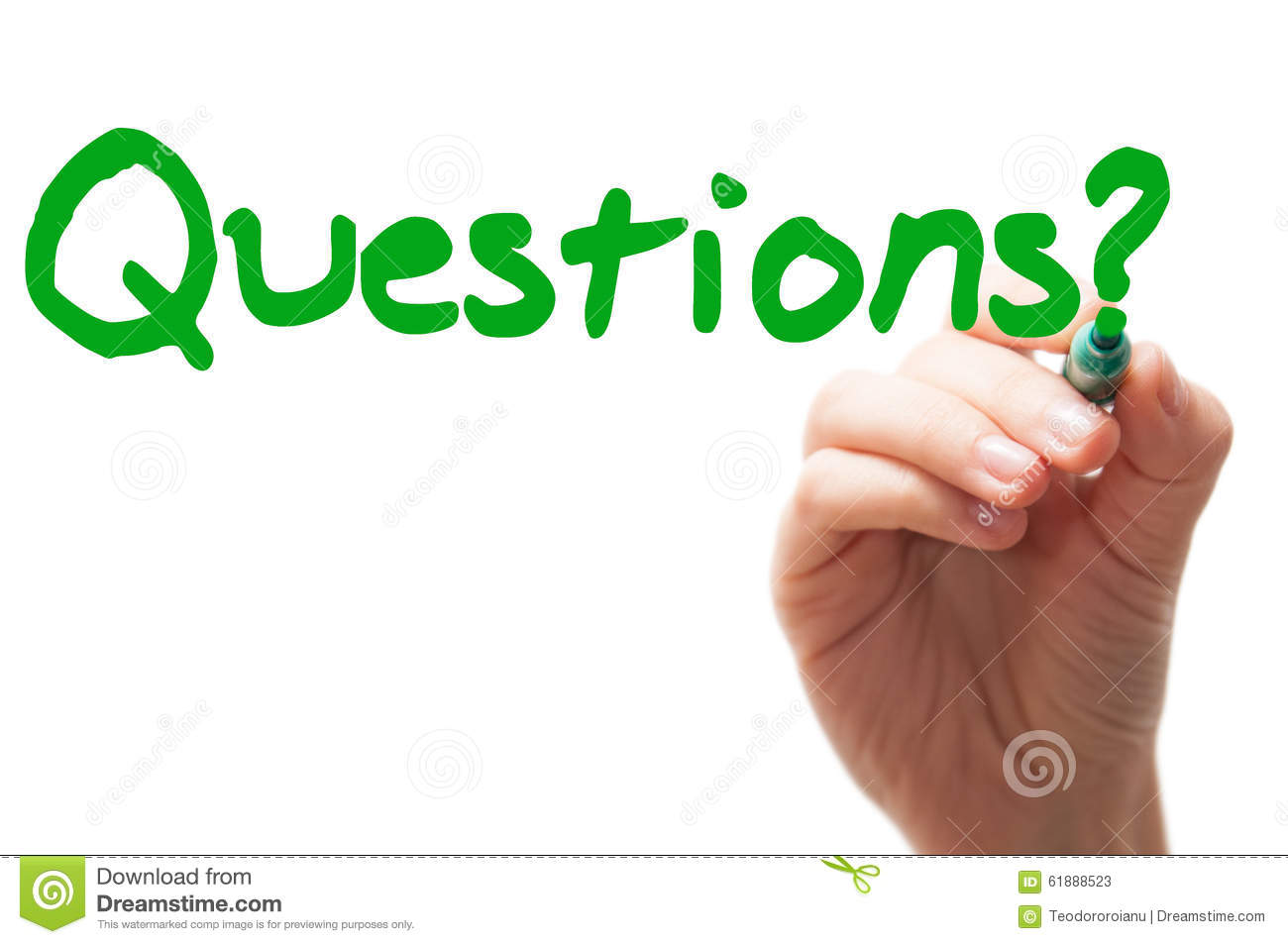 Questions Word Stock Image Image Of Fill Lines Copy