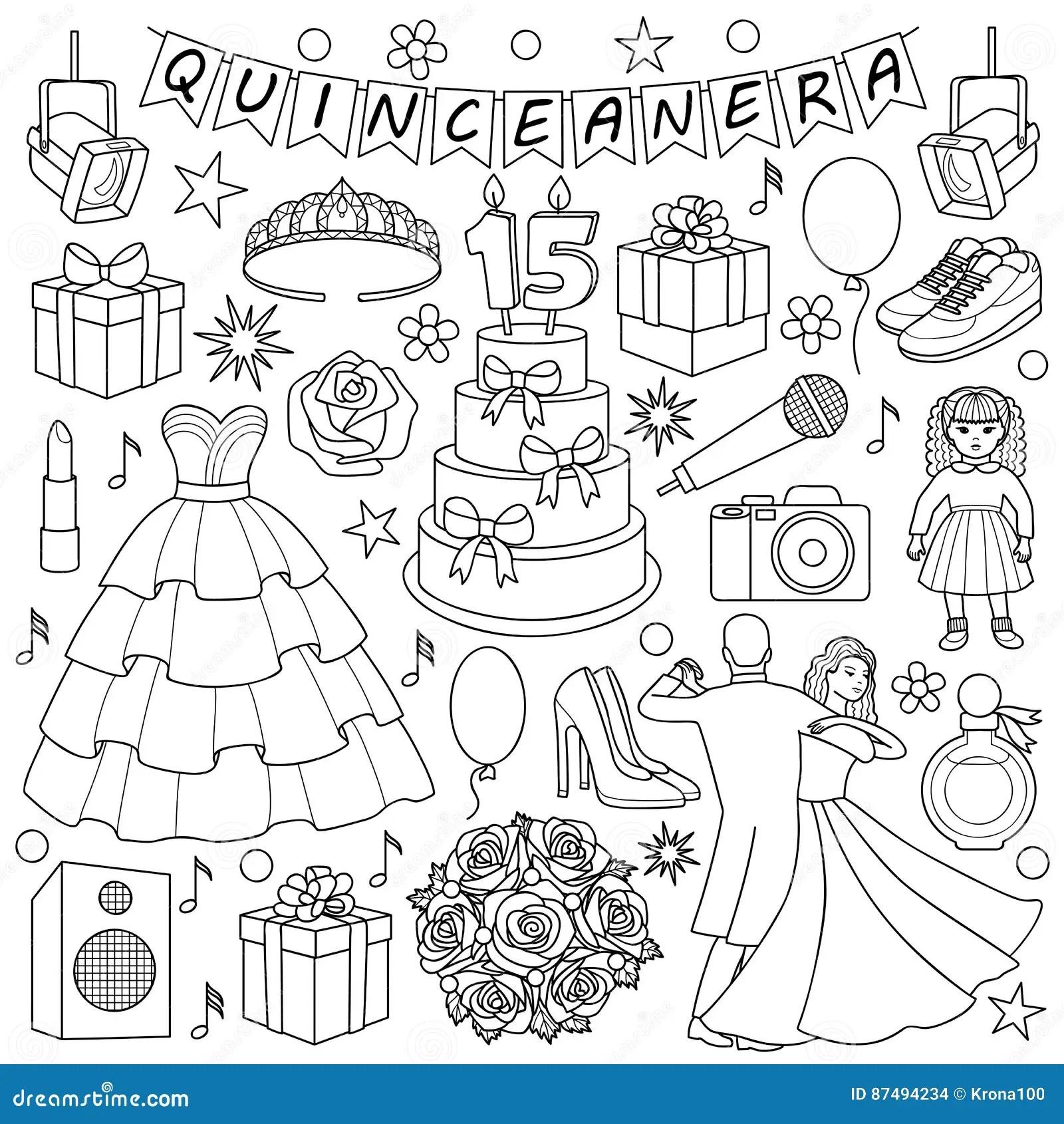 Quinceanera Cartoons Illustrations Amp Vector Stock Images