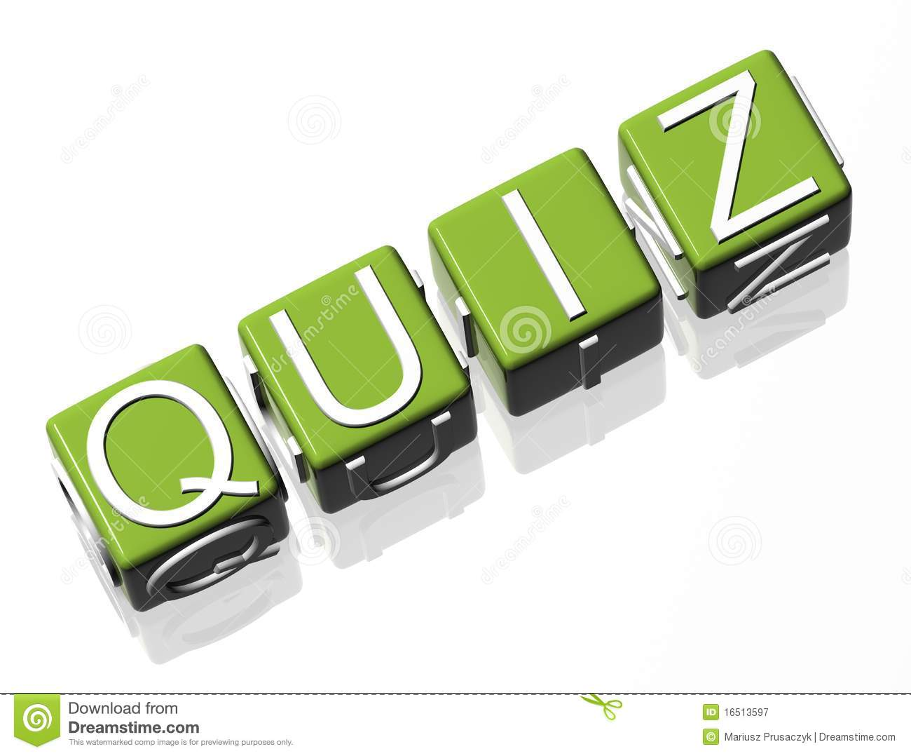 Quiz Royalty Free Stock Photography