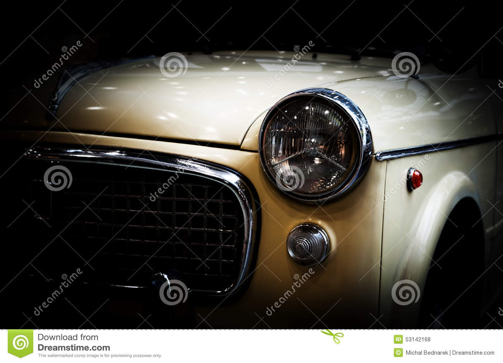retro voiture classique sur le fond noir vintage elegant photo stock image du noir voiture 53142168