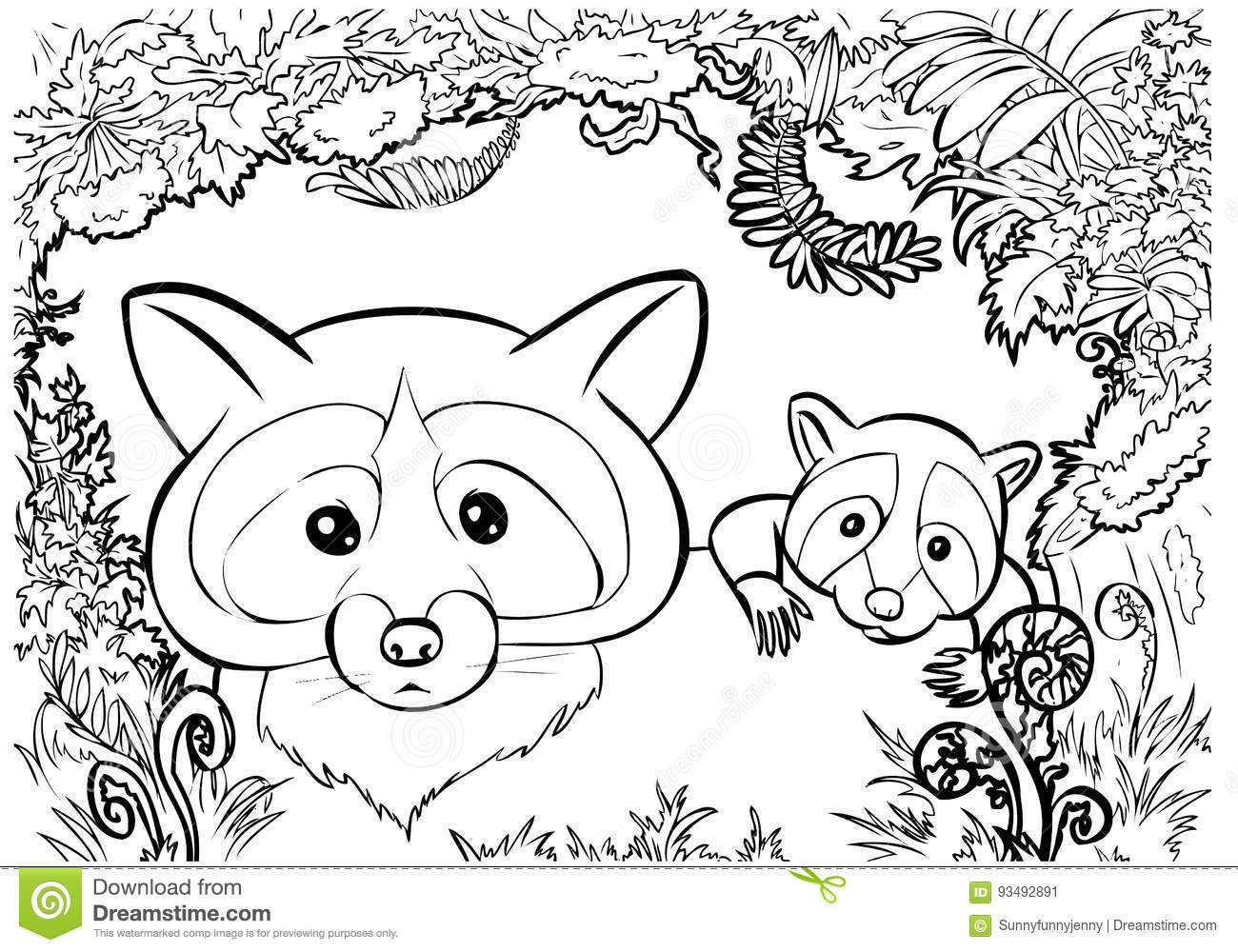 Raccon Cartoons Illustrations Amp Vector Stock Images