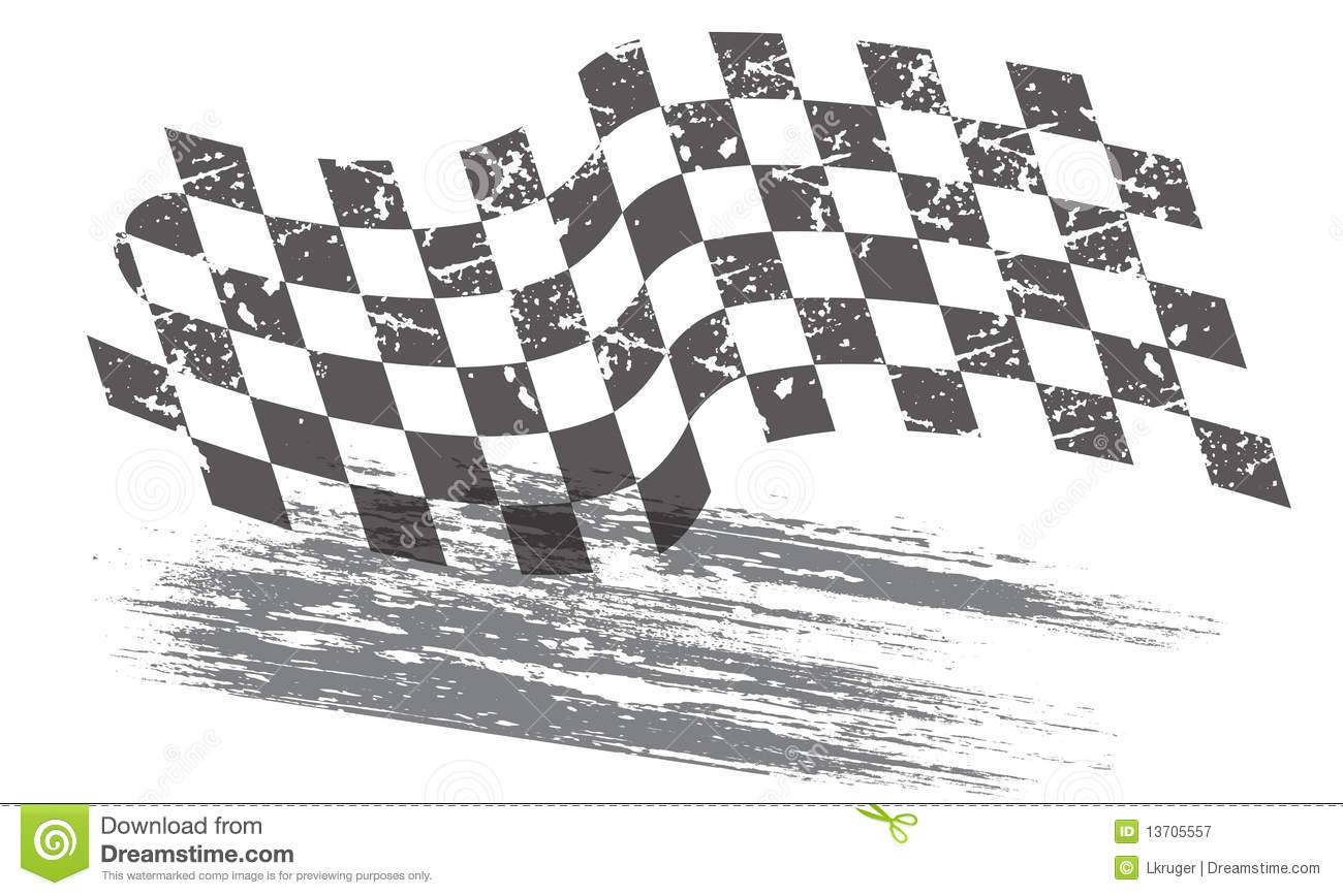 Racing Background Stock Vector Illustration Of Flag