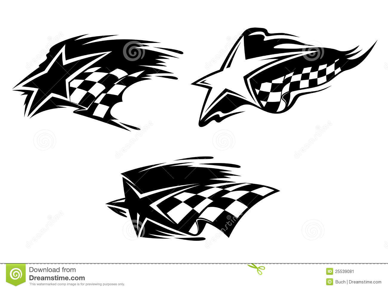 Racing Symbols Stock Vector Illustration Of Phantom