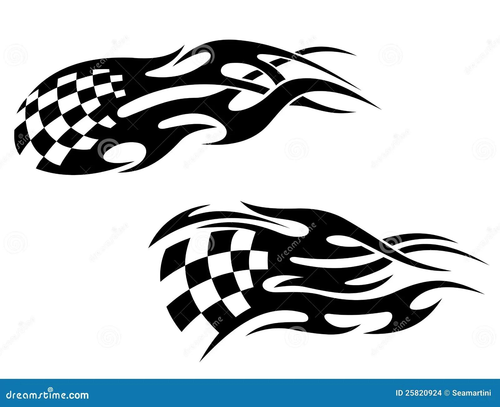 Racing Tattoos Stock Images