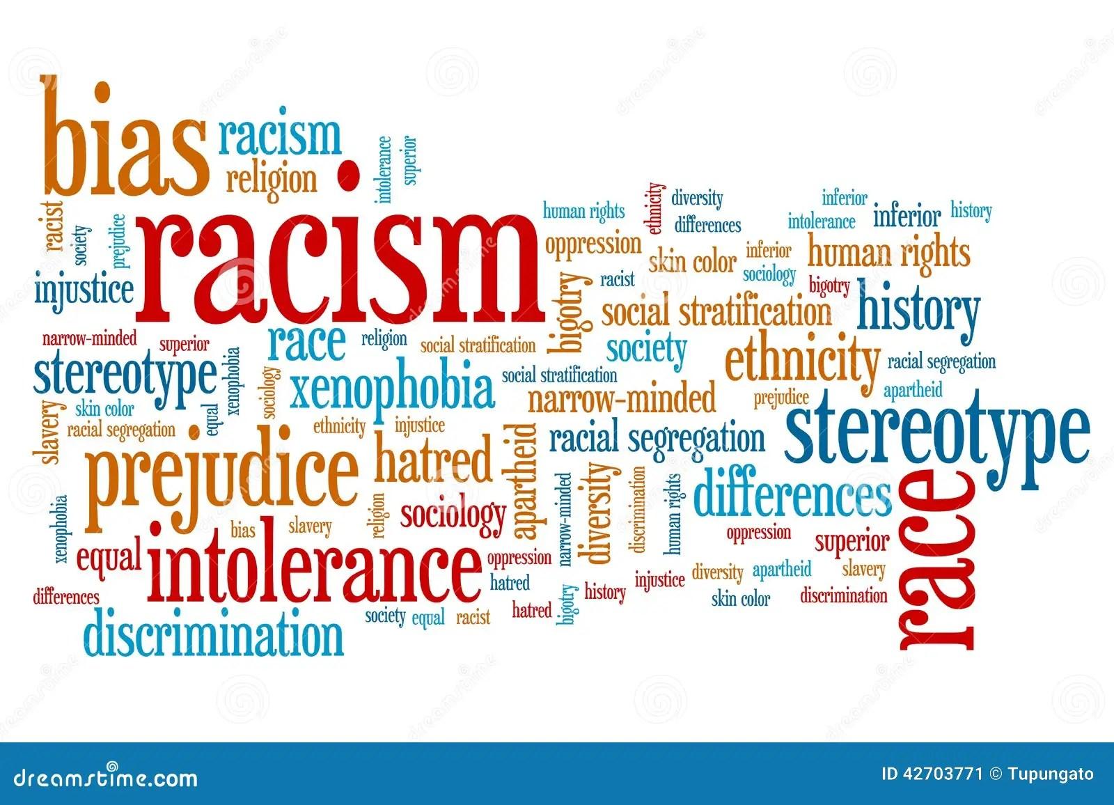 Racism Stock Illustration Illustration Of Hate