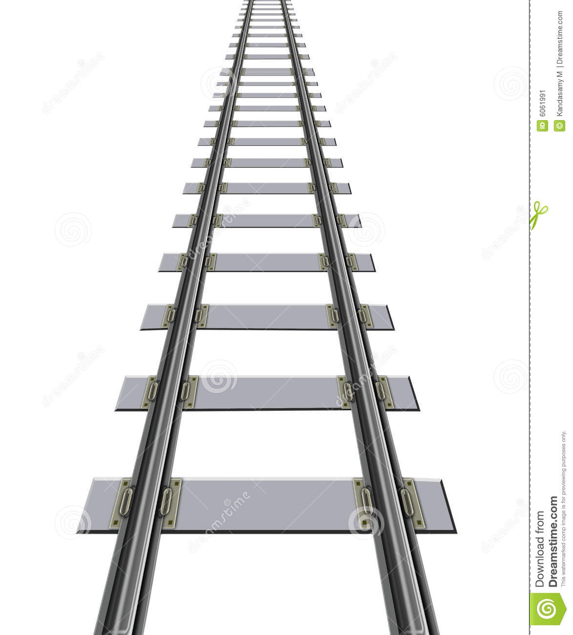 Railway Track Stock Image Image Of Life Strength